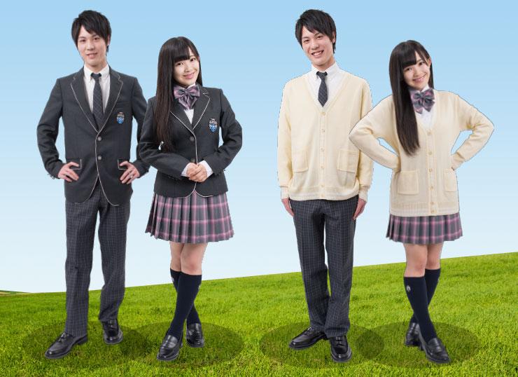 ルネサンス豊田高等学校制服画像