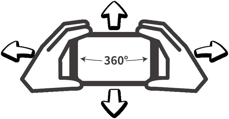 VR 360度動画の説明です