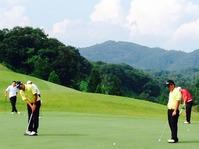 ゴルフ部 関東高等学校ゴルフ選手権:練習の様子!