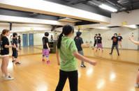Let's Dance!! ダンス部初日の様子。