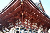 浅草寺の節分会に参加