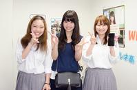ドラマ出演する松若里菜さん 新宿代々木キャンパスに訪問!