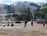 恒例の昼休みサッカー