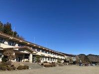 大寒の午後 雲ひとつないルネ高です。