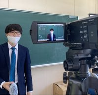 授業の録画も 着々と