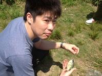 「環境保全クラブ」外来魚駆除釣り大会に参加
