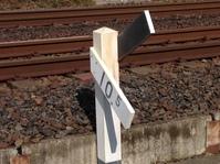 鉄道線路の標識
