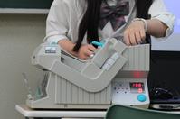 本日、学校で選挙がありました!