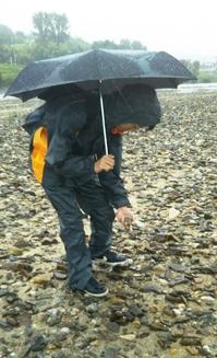 河原の石ころで自然放射線を測ってみた