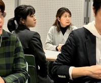 「ワールド・カフェ」交流会に高校生が参加