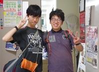 「書道クラブ」再興のため卒業生が来校す