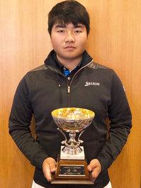 坂口 諒馬くんが岐阜県のゴルフ大会で優勝!