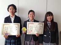 大阪高校ゴルフ選手権でルネ高生が2,3,4位!