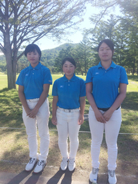 祝!ゴルフ女子団体全国大会へ【ルネサンス高等学校】