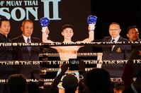 名高選手がムエタイの歴史を塗り替える日本人初の快挙!