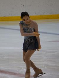 フィギュアスケート全国大会で岩野 桃亜さん健闘