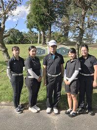 ゴルフ関西大会で女子団体準優勝!