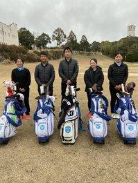 ゴルフ関東大会から全国大会に3名出場!
