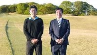 教育情報サイトにてゴルフ部が紹介されました